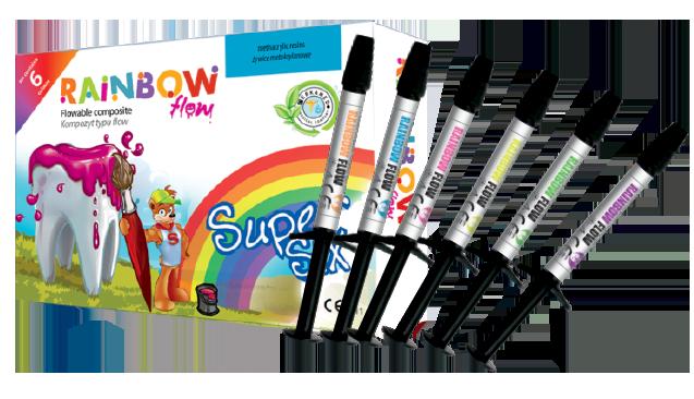 RAINBOW FLOW super six